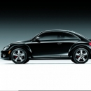 """Volkswagen Beetle"" - 2012 metų ""The Black Turbo edition"""